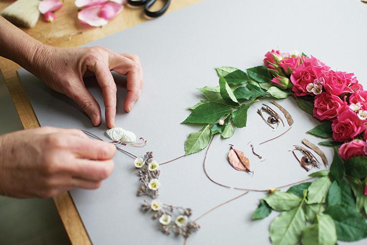 Brooke & Vicki Rawlins floral work 1