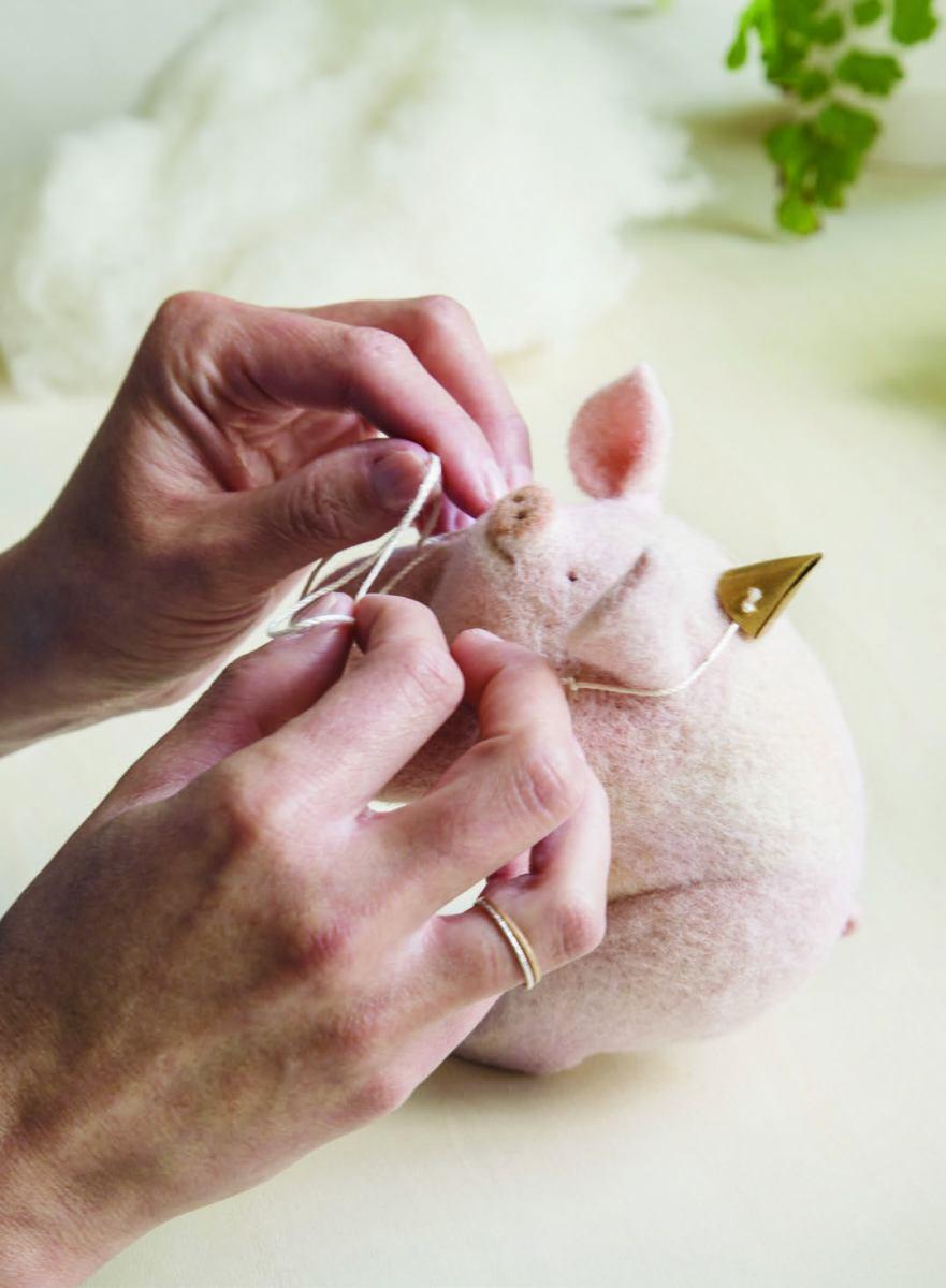 Stitching for PetitFelts
