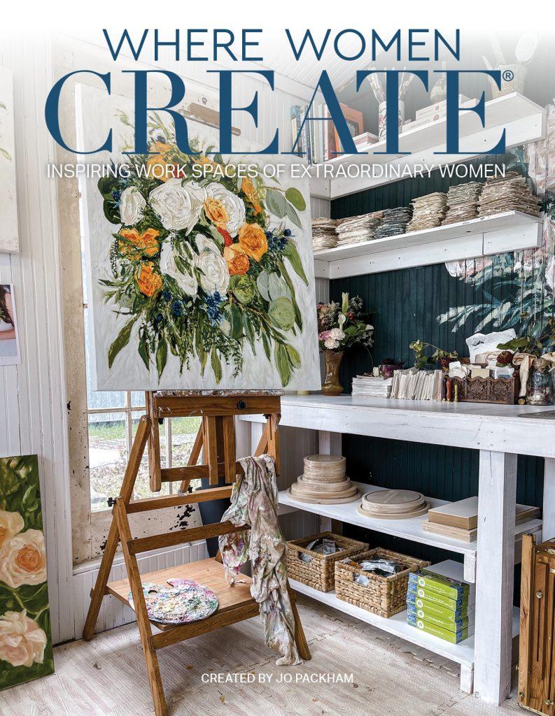 Where Women Create Cover - June 2021