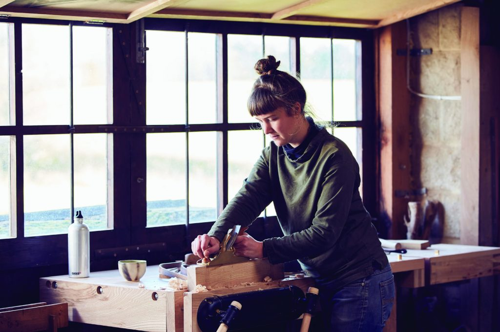 Alice Blogg woodworking