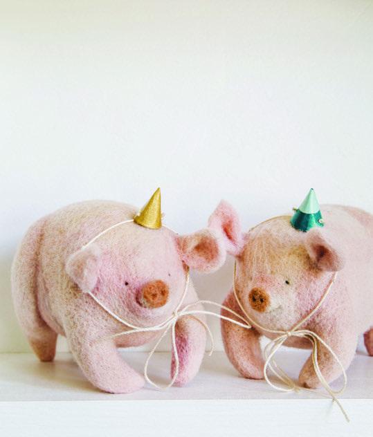 PetitFelts Pigs