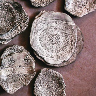 Valerie Casado Clay Plates
