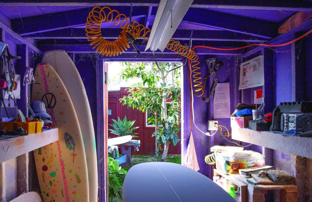 Valerie Duprat's studio