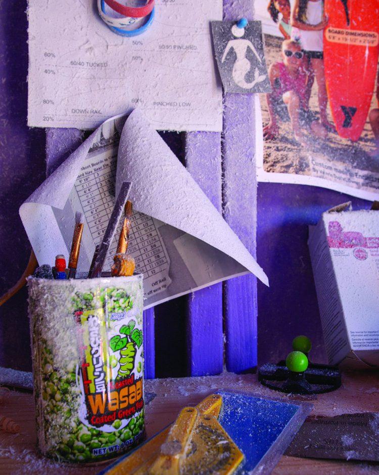 Tools in Valerie Duprat's studio