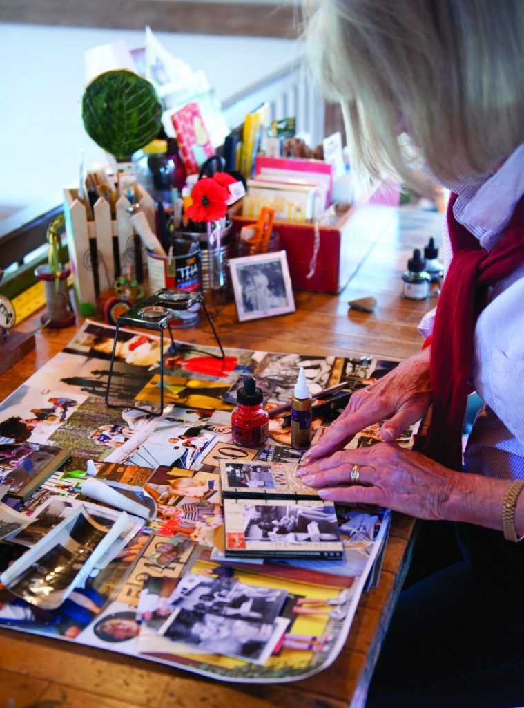 Linda Potter Making Art