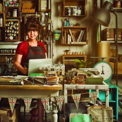 Liz Constable Studio Portrait