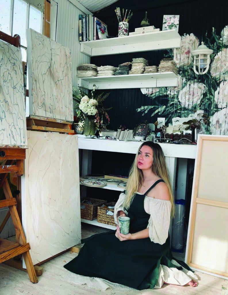 Leanna Garcia In the Studio