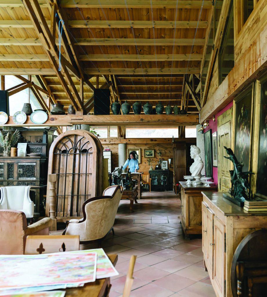 Marquin Campbell Studio Inside