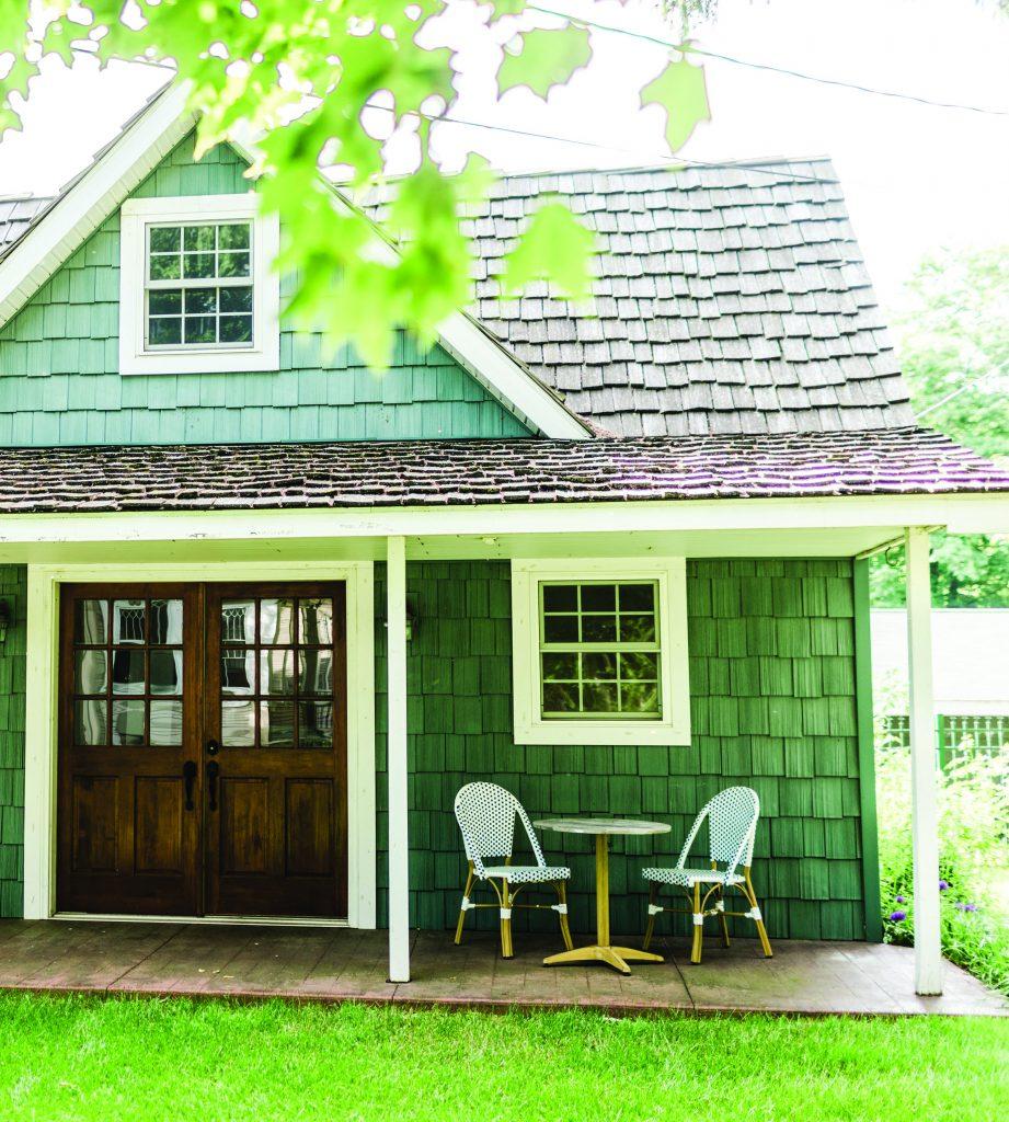 Tessie Fay Snow Green Home