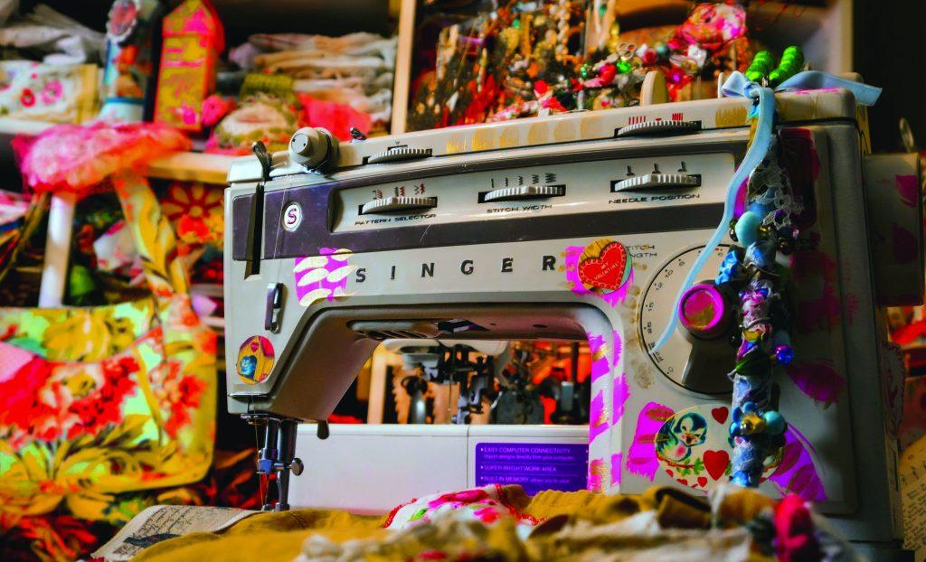 Vanessa Kiki Johanning Sewing Machine